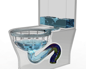 Wash Down Flushing System